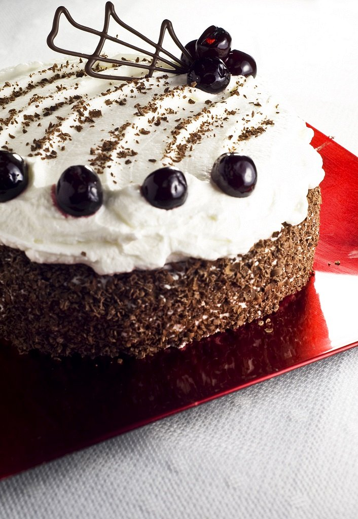 Torta della Foresta Nera (Schwarzwäldekirsch torte)